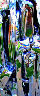 Reflectivity Photograph - Chrome by Randall Weidner