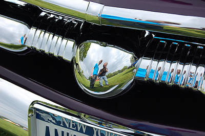 Chrome Reflection Art Print
