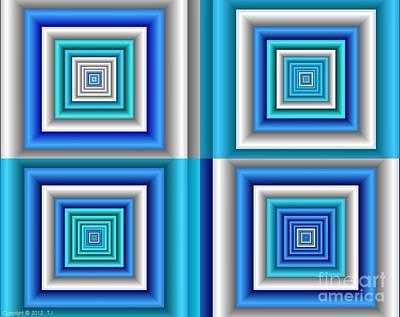 Chromodynamic  5 Art Print