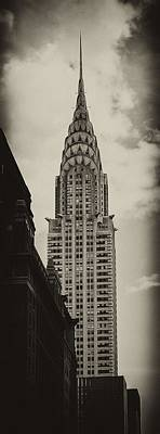 Outside Photograph - Chrysler by Andrew Paranavitana