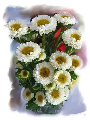Chrysanthemum Painting Art Print