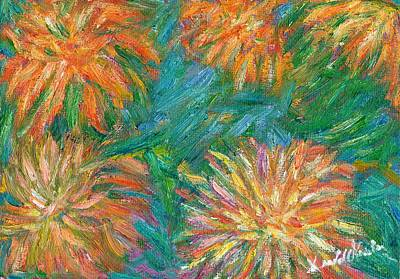 Painting - Chrysanthemum Shift by Kendall Kessler