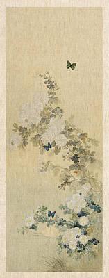 Digital Art - Chrysanthemums by Aged Pixel