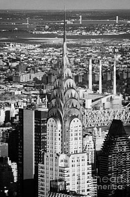 Chrysler Art Deco Building New York City Usa Art Print by Joe Fox
