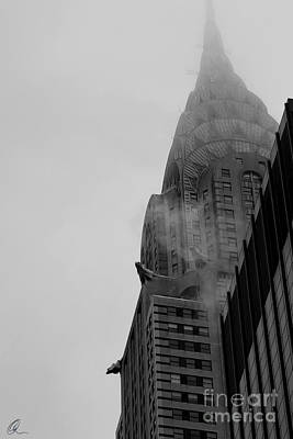 Photograph - Chrysler Building 1 by Chris Thomas