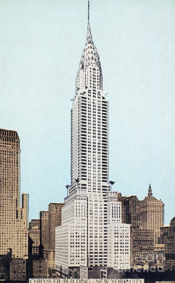 Photograph - Chrysler Building, 1930s by Granger