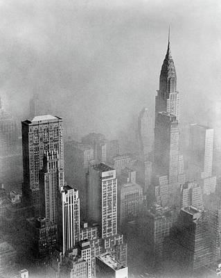 Photograph - Chrysler Building, 1953 by Granger