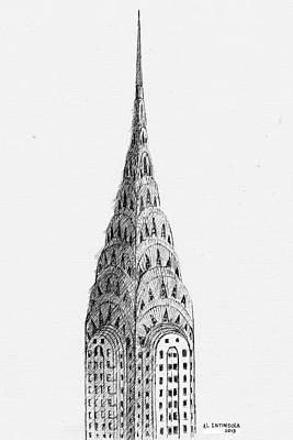 Chrysler Building Art Print by Al Intindola