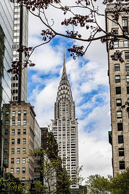 Chrysler Building Art Print by Chris Halford