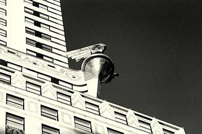 Photograph - 'chrysler Building Detail' by Liza Dey