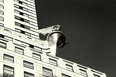 Photograph - 'chrysler Building Detail' by Liza Dey