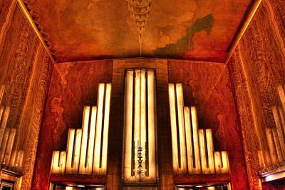 Photograph - Chrysler Building Entrance by Dave Beckerman