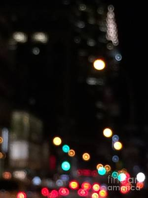 Photograph - Chrysler Building In Traffic by Miriam Danar