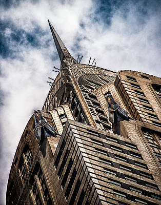 Print featuring the photograph Chrysler Building by James Howe