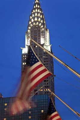 Adam Photograph - Chrysler Building, Manhattan, New York by Peter Adams