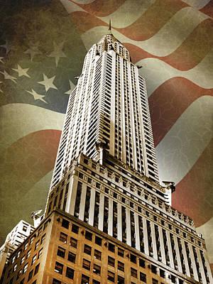 Chrysler Building Art Print by Mark Rogan