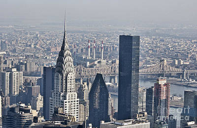 Photograph - Chrysler Building New York by Steve Purnell