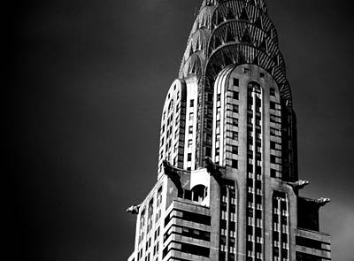 Photograph - Chrysler Building Nyc 1 by Ron Bartels