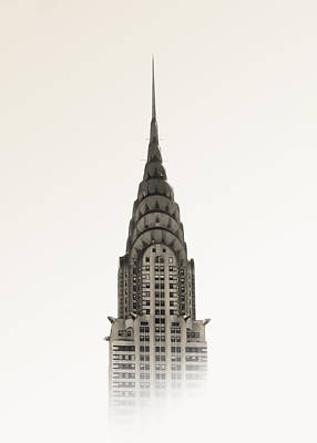 Chrysler Building - Nyc Art Print by Nicklas Gustafsson