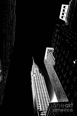 Chrysler Building Photograph - Destiny by Az Jackson