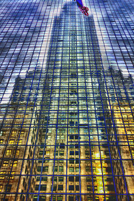 Photograph - Chrysler Building Reflection by Dave Beckerman