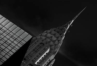 Chrysler Building Photograph - Chrysler by Hans-wolfgang Hawerkamp