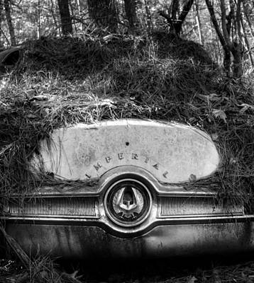 Photograph - Chrysler Imperial In Black And White by Greg Mimbs