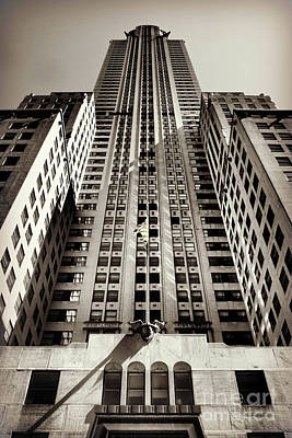 Photograph - Behemoth - The Chrysler - In Perspective by Miriam Danar