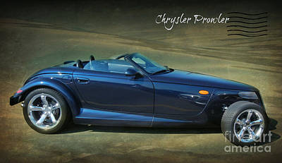 Prowler Digital Art - Chrysler Prowler by Ruta Naujokiene