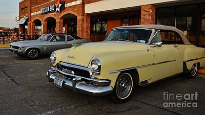 Photograph - Chrysler Ragtop by Bob Sample