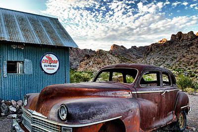 Photograph - Desert Chrysler  by Renee Sullivan