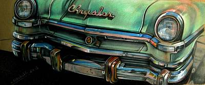 Chrysler Smile Art Print by Kathleen Bischoff
