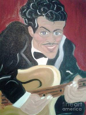 Painting - Chuck Berry by Debby Reid