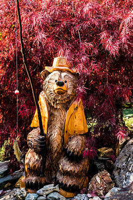 Photograph - Chuck The Bear by Mick Anderson