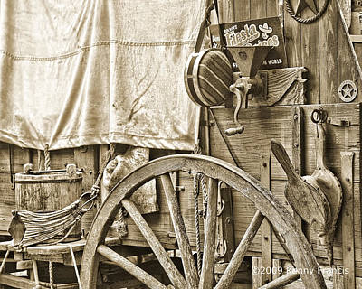 Chuck Wagon Art Print by Kenny Francis