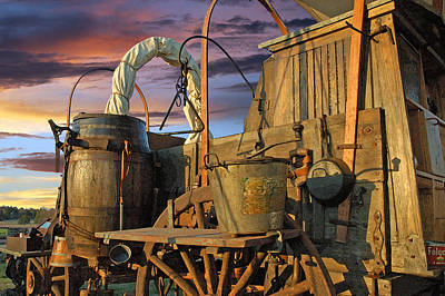 Chuck Wagon Photograph - Chuck Wagon Sky by Robert Anschutz