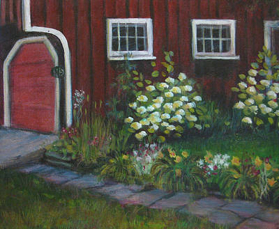Painting - Chuck's Barn by  Sandra  Hansen