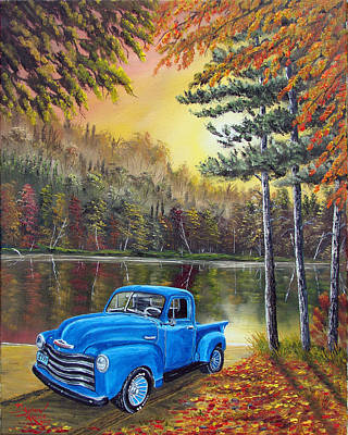 Chuck's Truck Art Print