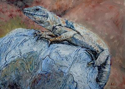 Painting - Chuckwalla  by Sandra Lytch