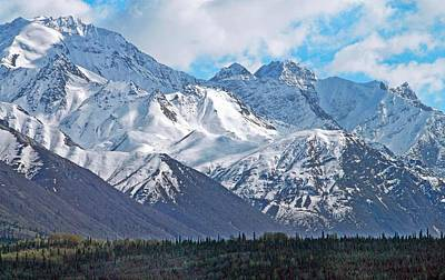 Photograph - Chugach Mountain Range Alaska by Dyle   Warren