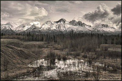 Photograph - Chugach Mountain Range by Erika Fawcett
