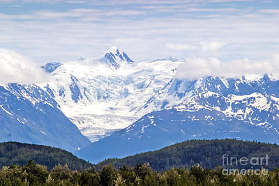 Photograph - Chugach Mountains From The Mat-su Valley by Richard Smith