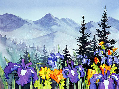 Painting - Chugach Summer by Teresa Ascone
