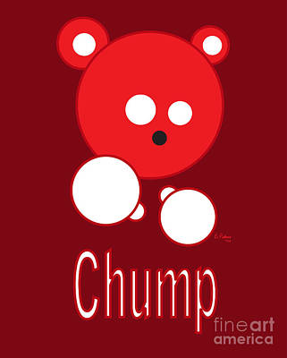 Chump Art Print by Cesar Pacheco