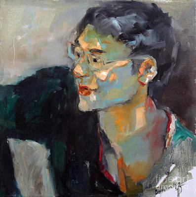 Becky Kim Artist Painting - Chunjoo by Becky Kim