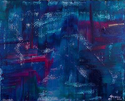 Painting - Chuppah by Christine Nichols