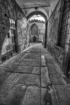 Old Door Photograph - Church Alley by Ian Mitchell