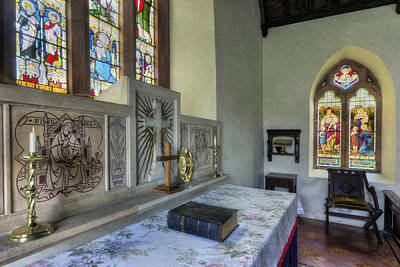 Photograph - Church Altar by Ian Mitchell