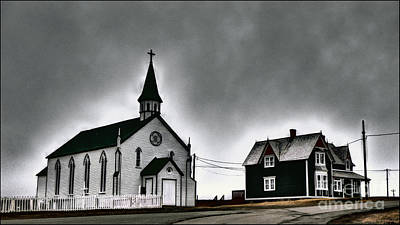 319 Photograph - Church And House by Ty Lee