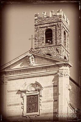 Photograph - Church And Tower Closeup by Prints of Italy